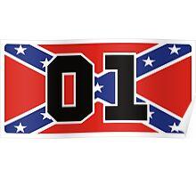 General Lee 01 - Rebel Flag Poster