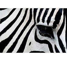 Loud Stripes Photographic Print