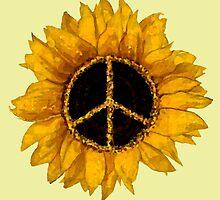 Sunflower Peace by art2bseen