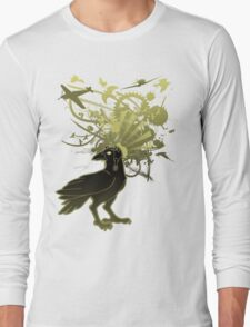 Kamikaze Raven Long Sleeve T-Shirt