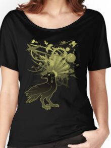 Kamikaze Raven Women's Relaxed Fit T-Shirt