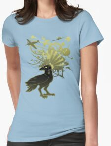 Kamikaze Raven Womens Fitted T-Shirt