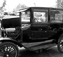 1924 Model T Ford Gangster Car by TeeMack