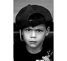 Little bad boy Photographic Print