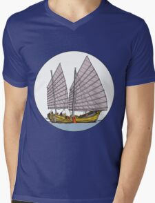 Sailing Mens V-Neck T-Shirt