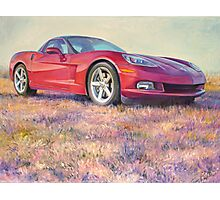 Bills' Vette Photographic Print