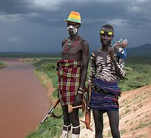 MENACING - ETHIOPIA by Michael Sheridan