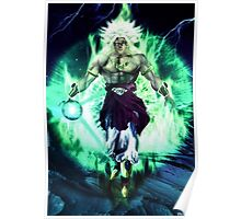 Broly real style Poster