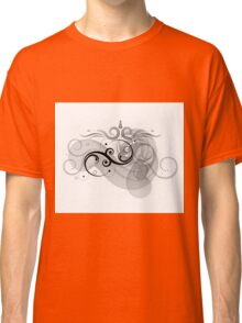 Abstract Floral Design Classic T-Shirt