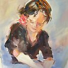 Wendy washing... by Jean Cowan