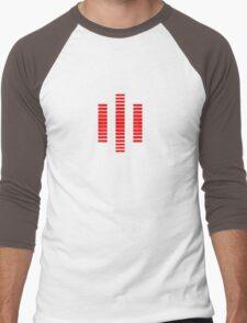 KITT The Red Computer Voice Men's Baseball ¾ T-Shirt