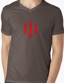 KITT The Red Computer Voice Mens V-Neck T-Shirt