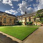 Jesus College Oxford by Derek Green