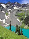Lower Blue Lake, Colorado by Tamas Bakos