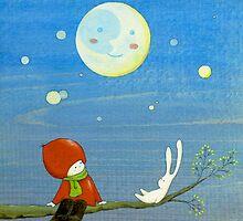 Moon Talk by naokosstoop