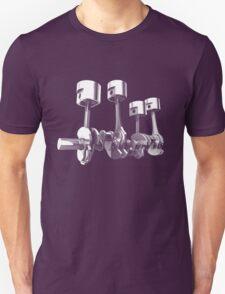 Car Engine pistons - Awesome 3D transparent design   T-Shirt