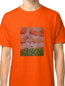 Tire Swing in the Sunset Classic T-Shirt