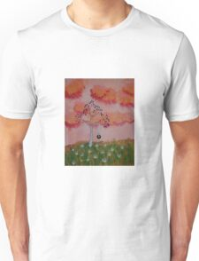 Tire Swing in the Sunset Unisex T-Shirt
