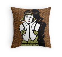 Fanny Brice 1920s Portrait Throw Pillow