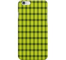 Green squares pattern iPhone Case/Skin