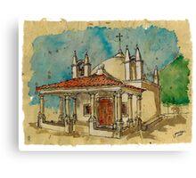 Capela S.Sebatião Canvas Print