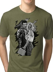 Mr & Mrs Worley Tri-blend T-Shirt