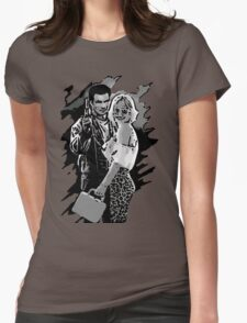 Mr & Mrs Worley Womens Fitted T-Shirt