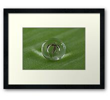 When your luck is out! Framed Print