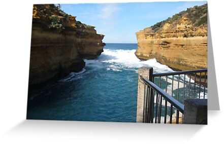 Great Ocean View  -  Thunder Cave, Great Ocean Road by Bree Lucas