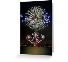 The Big Bang | New Years Eve | Sydney Harbour Greeting Card