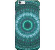 Cyan Echo iPhone Case/Skin