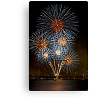 The Bouquet | New Years Eve | Sydney Harbour Canvas Print