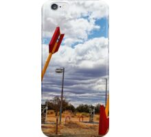 Route 66 -  Twin Arrows iPhone Case/Skin
