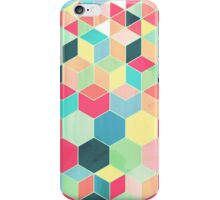 Yummy Summer Colour Honeycomb Pattern iPhone Case/Skin