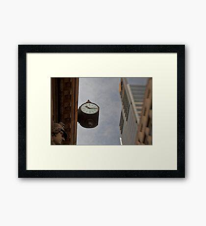 Time Piece - Sydney - Australia Framed Print