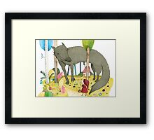 Red Ridinghood Framed Print