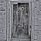 NO TRESPas  by Paul Lubaczewski
