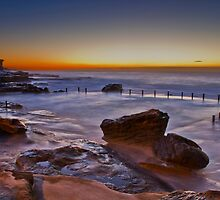 Mahon Pool Sunrise - Maroubra - NSW - Australia by Bryan Freeman