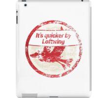 It's quicker by Loftwing - Zelda Skyward Sword iPad Case/Skin