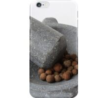 Mortar Pestle and Allspice iPhone Case/Skin