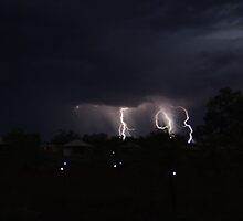 Karijini Lightning by Sheldon Pettit