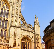 Bath Abbey by Linda Hardt