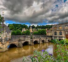 Bridge over the river Avon by Richard Majlinder