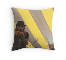 Don't Point That Finger At Me Throw Pillow