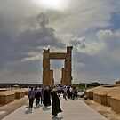 The Entrance to The Palace at Persepolis - Iran by Bryan Freeman