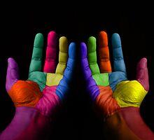 Colorful Hands by Atanas Bozhikov Nasko
