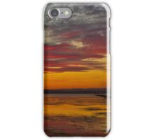 Long Jetty On Fire | New South Wales | Australia iPhone Case/Skin