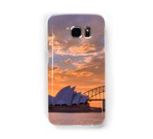 Sunset Sydney Harbour - Australia Samsung Galaxy Case/Skin