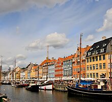 Nyhavn, Copenhagen by Richard Majlinder