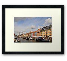Nyhavn, Copenhagen Framed Print
